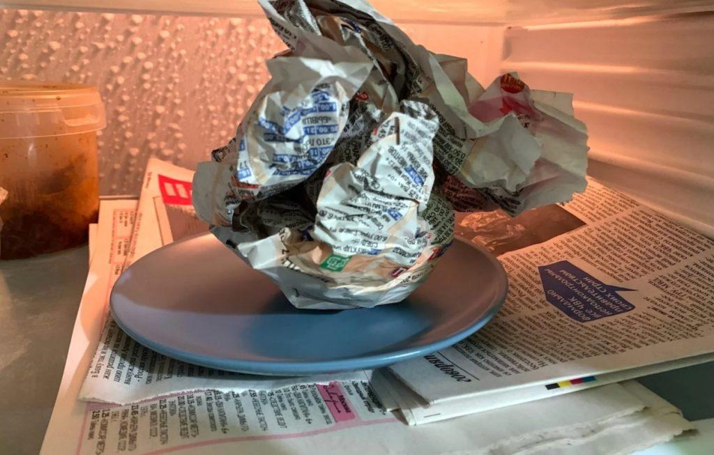"""Картинки по запросу """"Как газета поможет избавиться от запаха в холодильнике"""""""