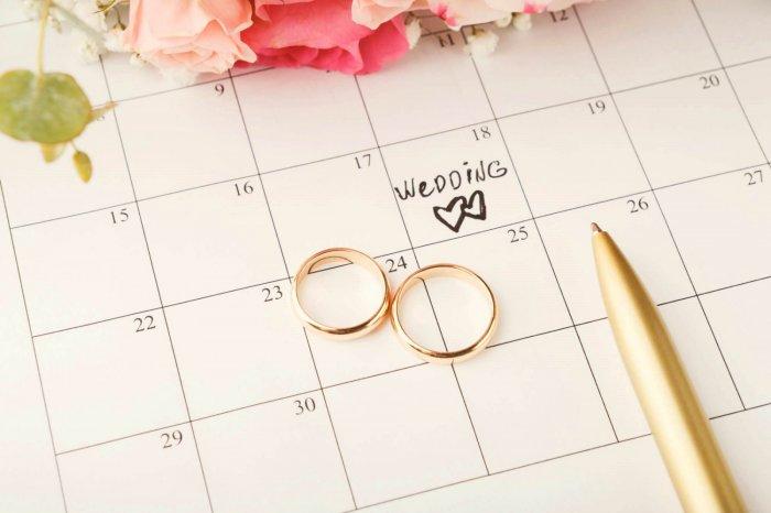 выбрать день свадьбы в 2021