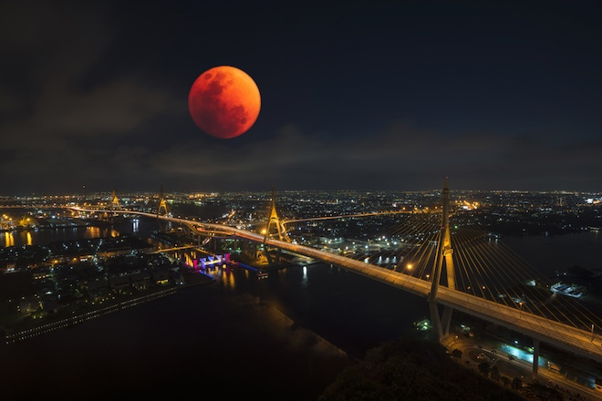 луна затмение 26 мая