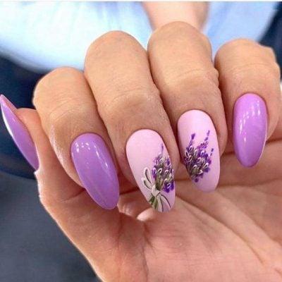 цвет ногтей весной 2021
