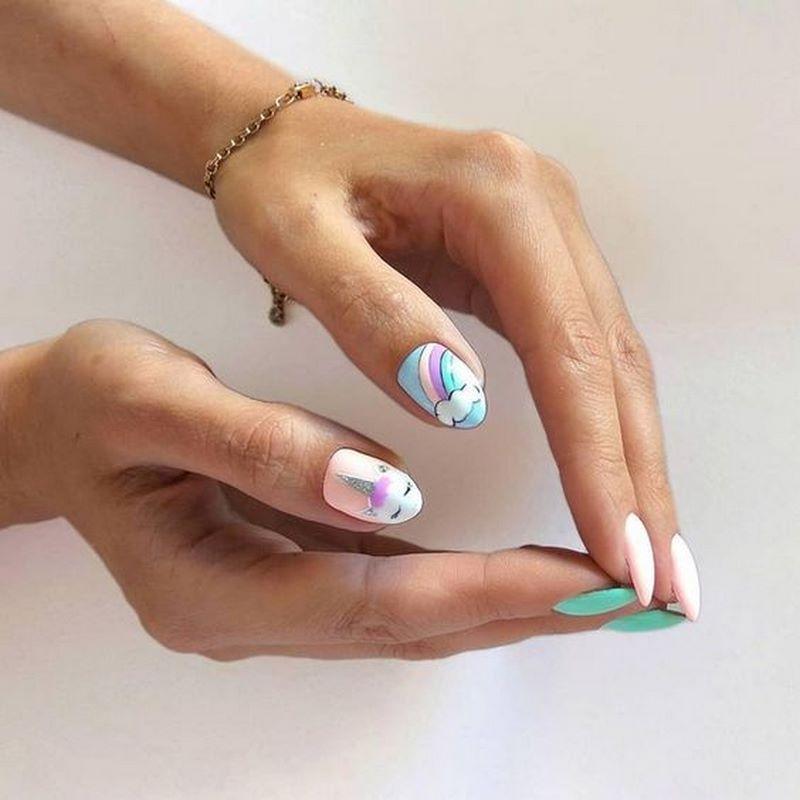 как накрасить ногти летом 2021